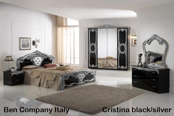 Cristina Black Silver