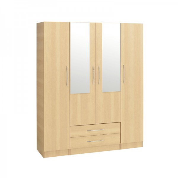 Alaska 4 Door 2 Drawer 2 Mirror1