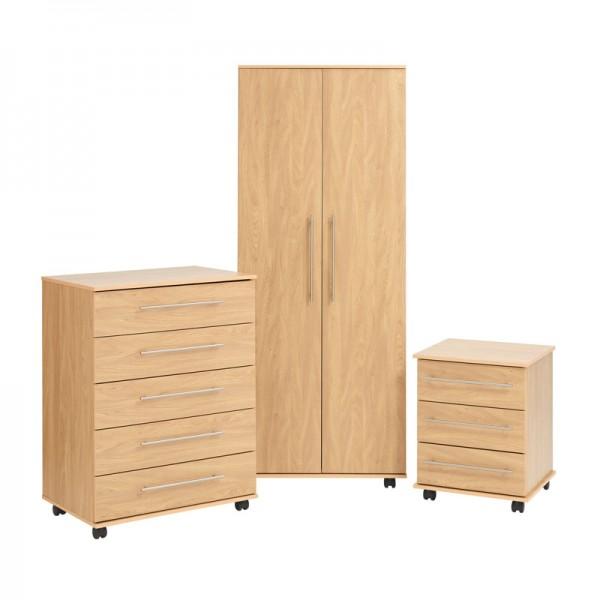 Bobby Bedroom Set Oak
