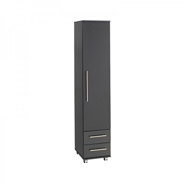 Bobby Single Wardrobe With 2 Drawers