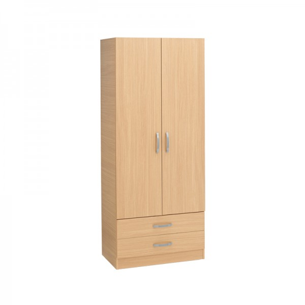 Budget 2 Door 2 Drawer Wardrobe