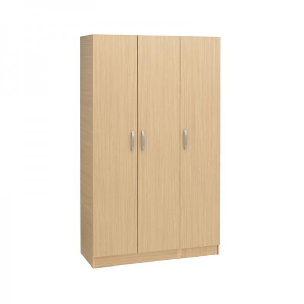 Budget 3 Door Wardrobe Plain