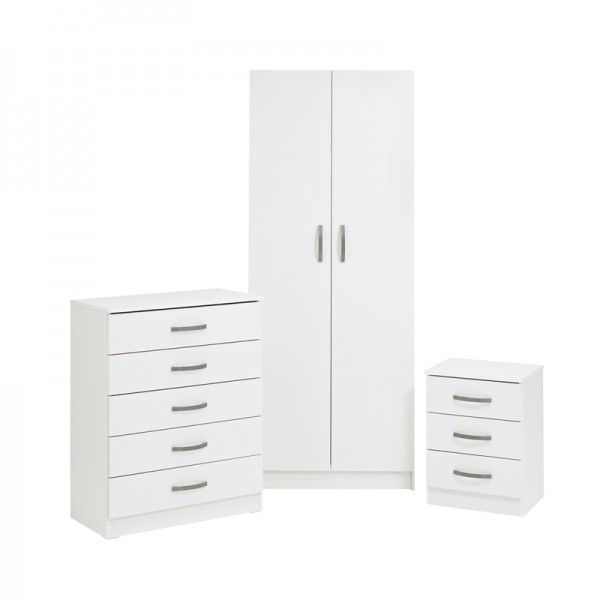 Budget Bedroom Set White