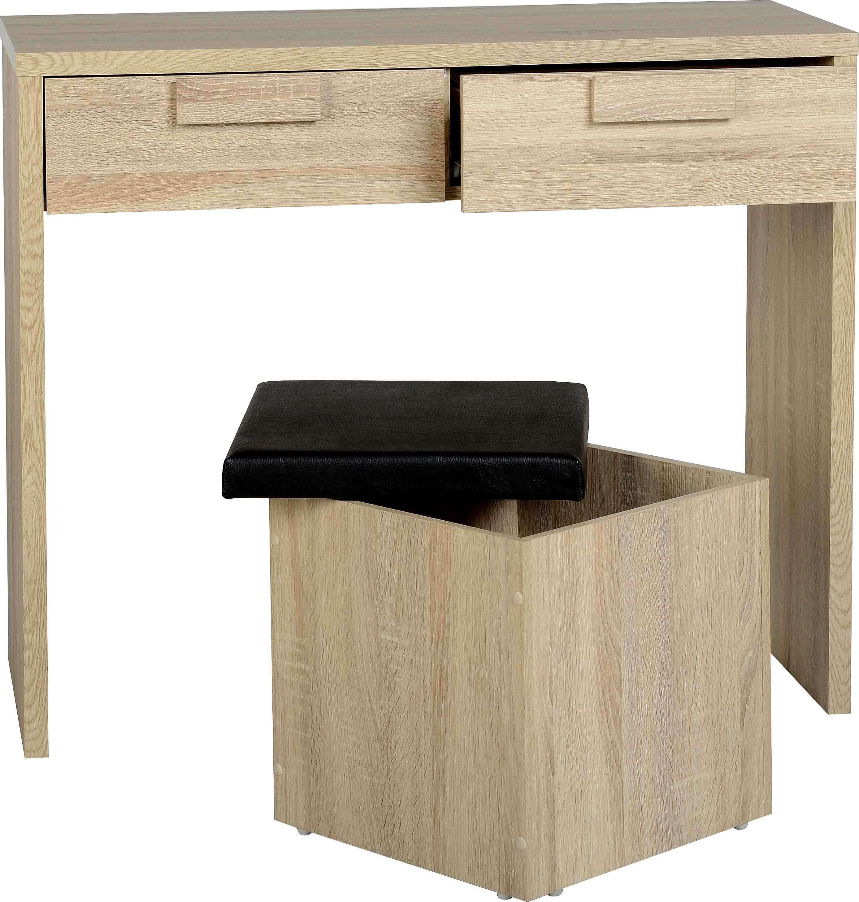 Cambourne 2 Drawer Dressing Table Set 3