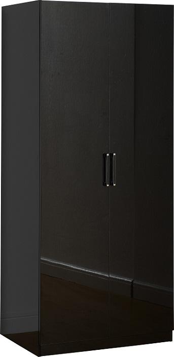 Charisma 2 Door Wardrobe Black