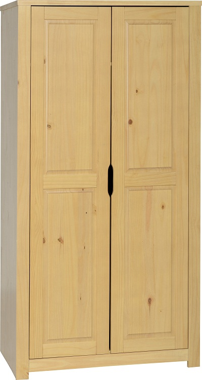 Eclipse 2 Door Wardrobe Oak