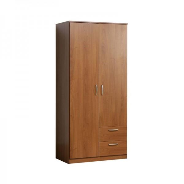Nikko 2 Door 2 Drawer Wardrobe