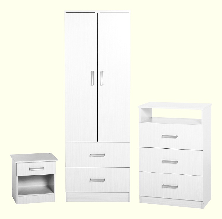 Polar Bedroom Set White