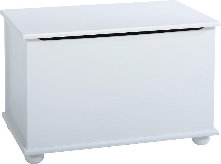Rainbow Blanket Box White