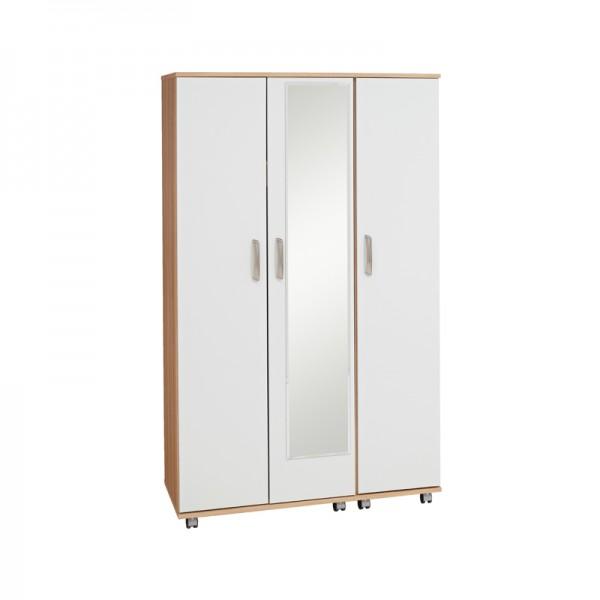 Regal 3 Door Wardrobe With Mirror