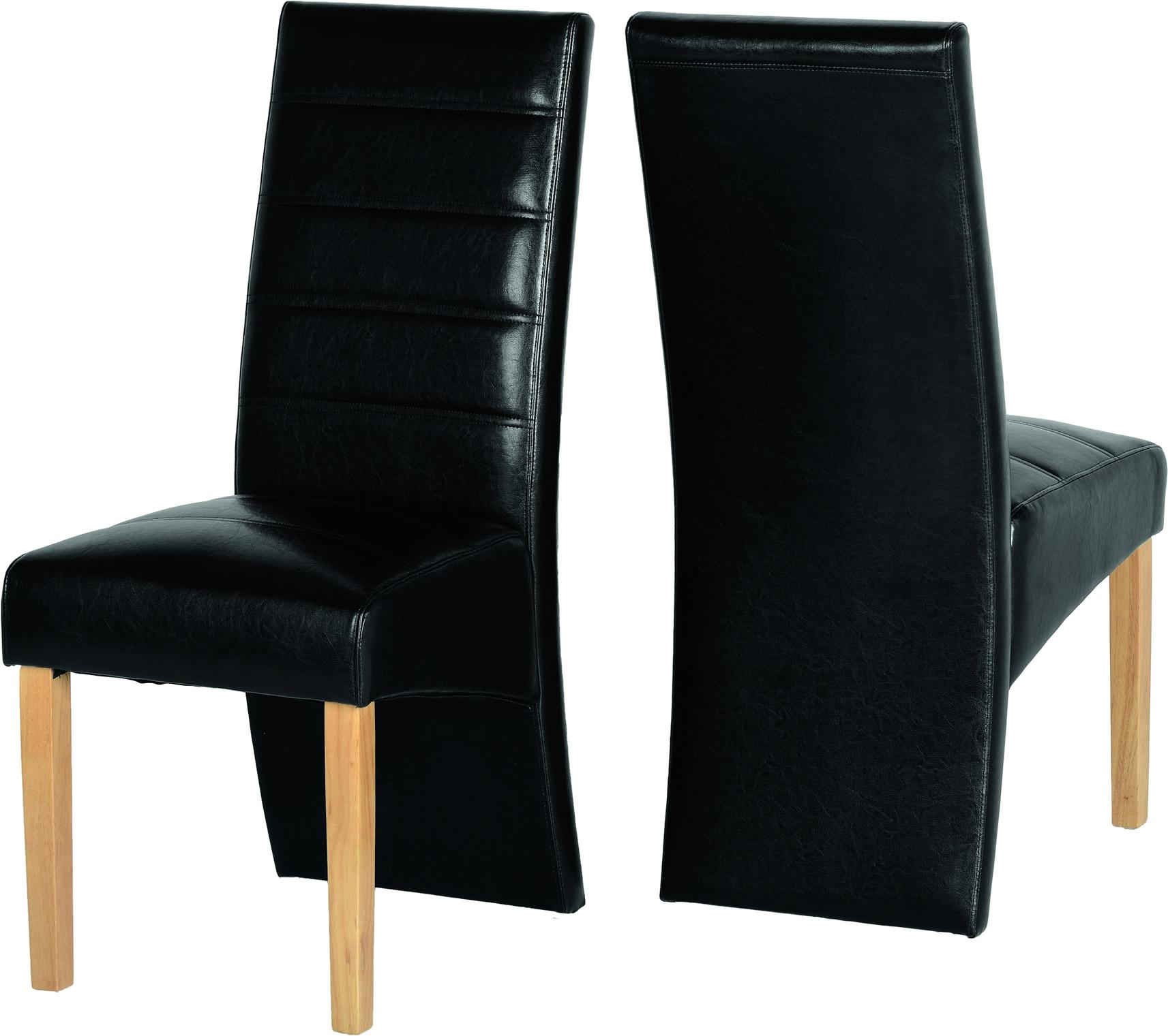 Chair Black Pair