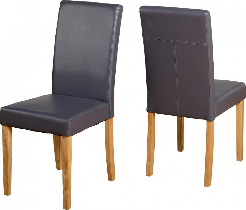 Chair Charcoal Pair