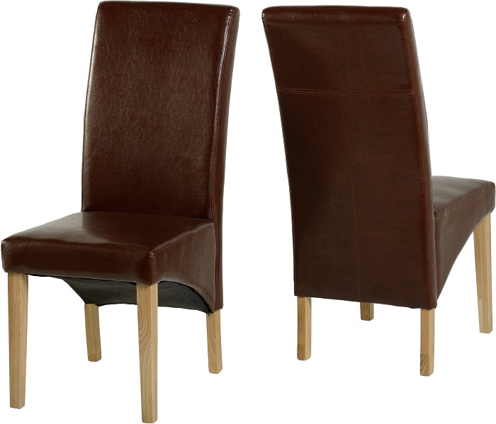 Chair Mid Brown