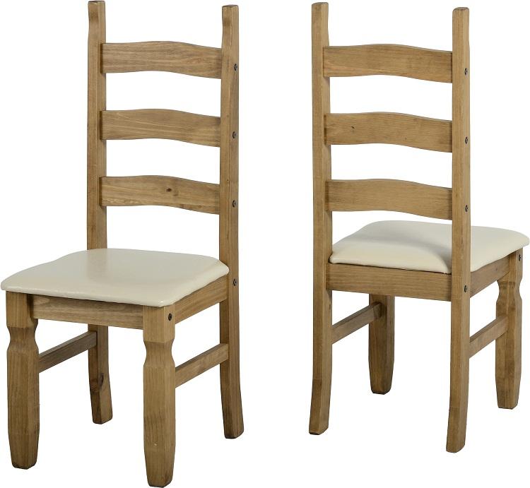 Corona Chair With Cream Pad