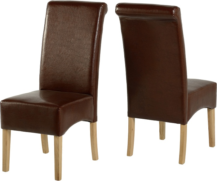 G10 Chairs Mid Brown Pu