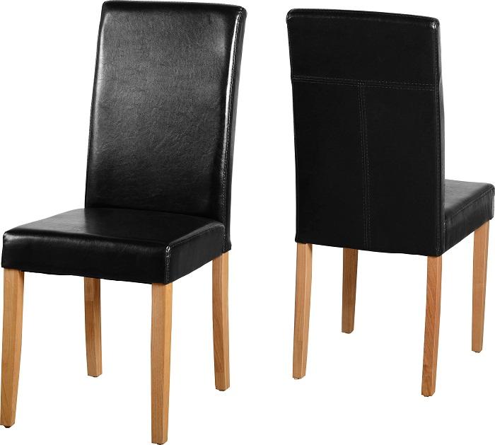 G3 Chairs Black Pu