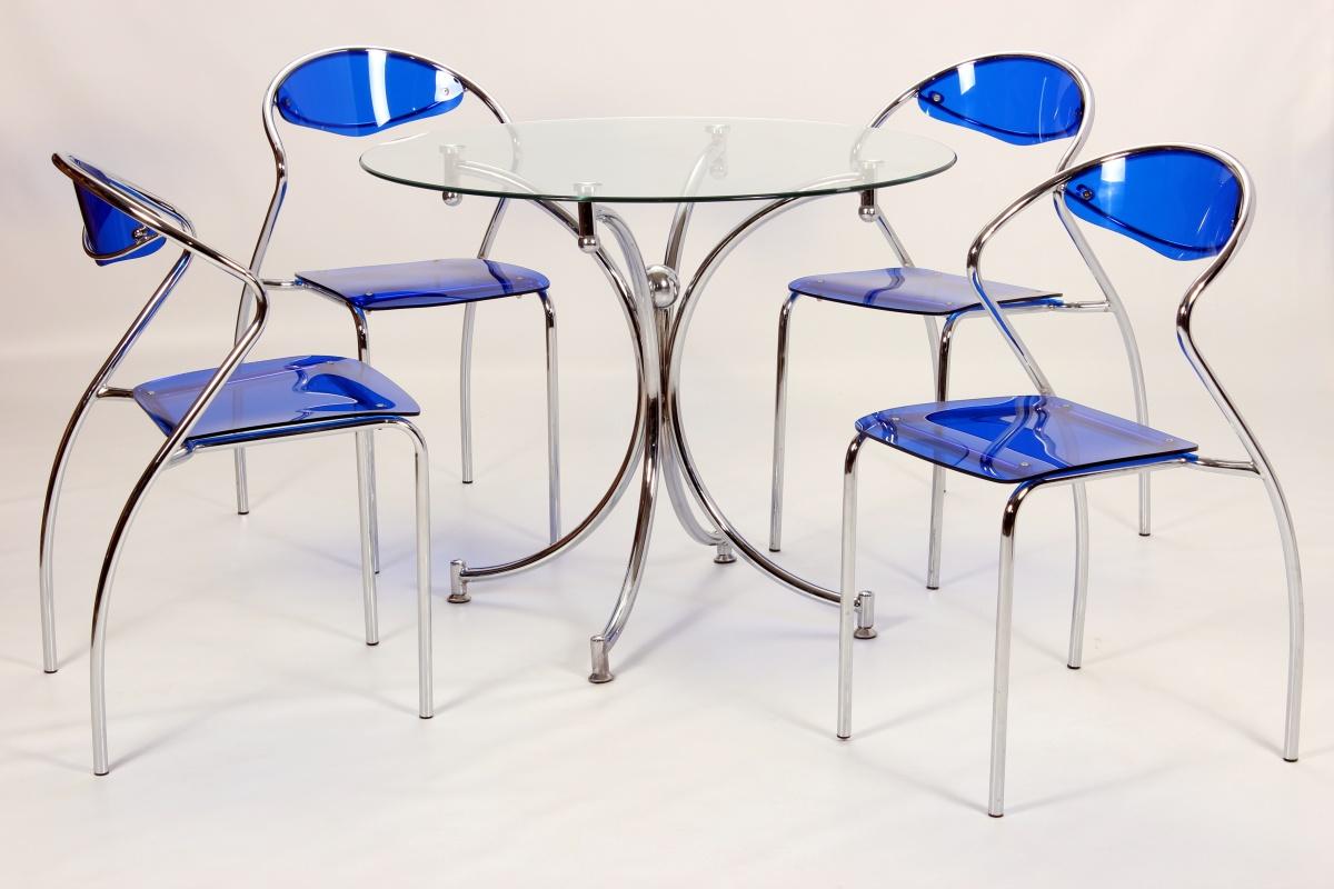 Jersey Blue Dining Set