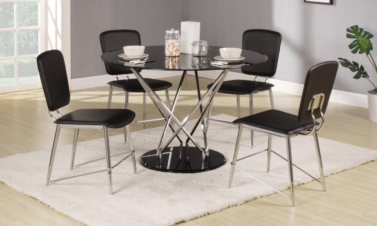 Uplands Black Dining Set