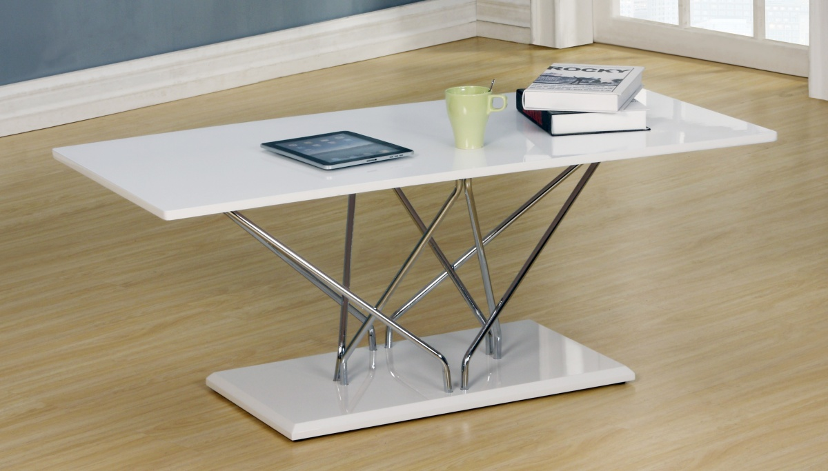 Hagley White High Gloss Coffee Table