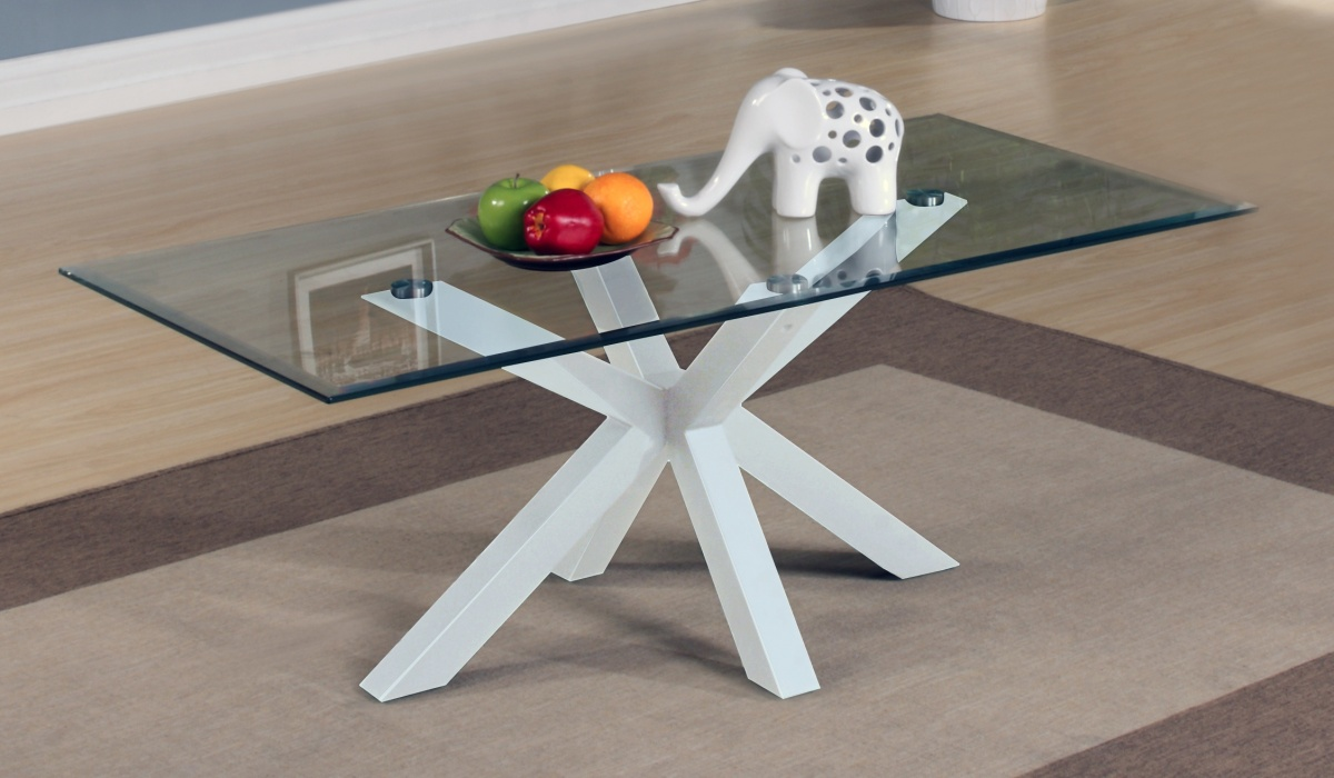 Langley White Coffee Table