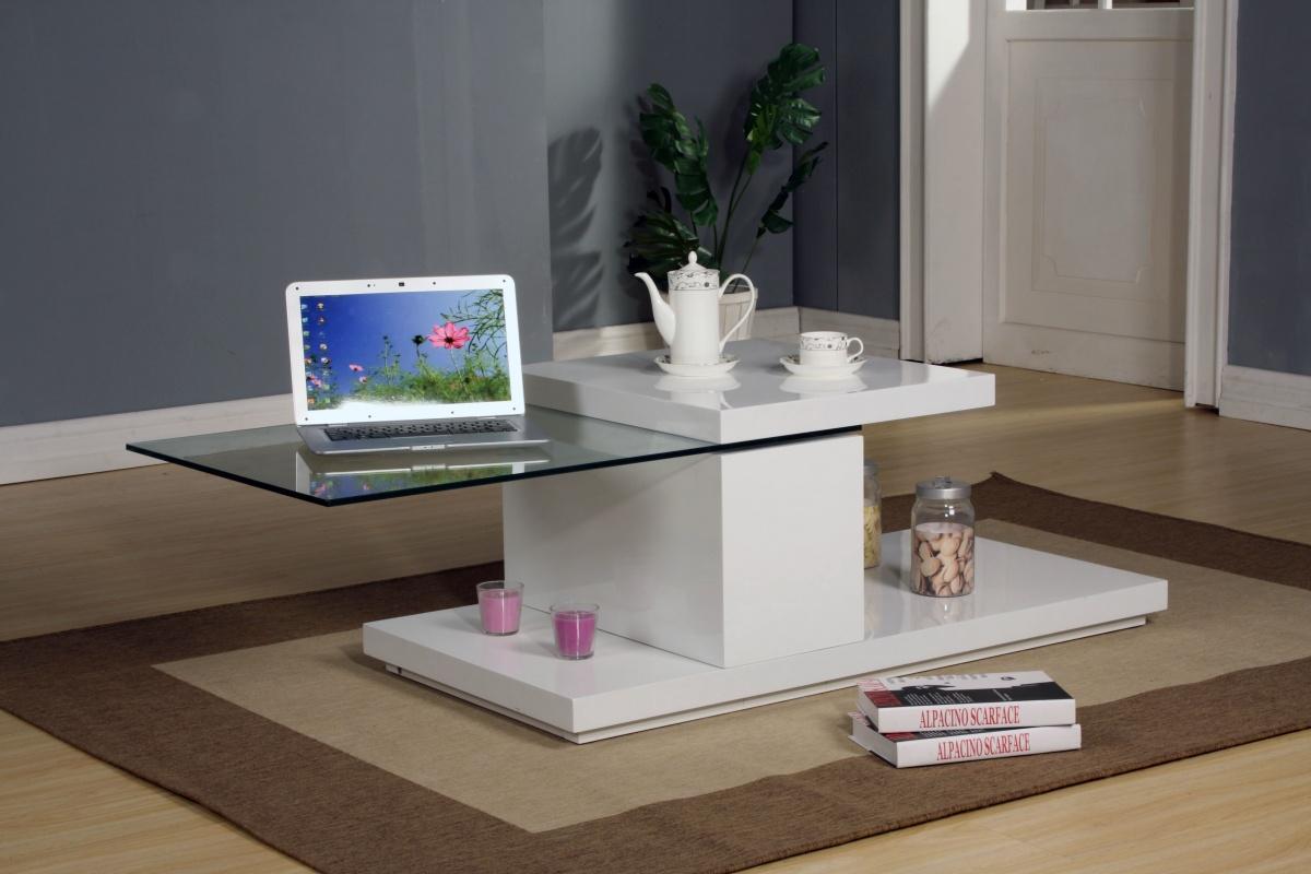 Ridgeway White Motion Coffee Table 1