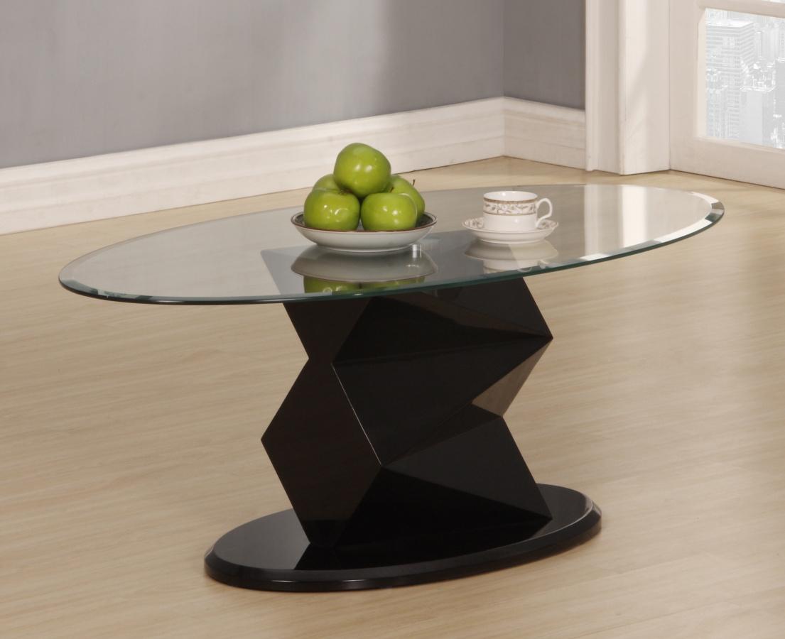Rowley Black High Gloss Coffee Table