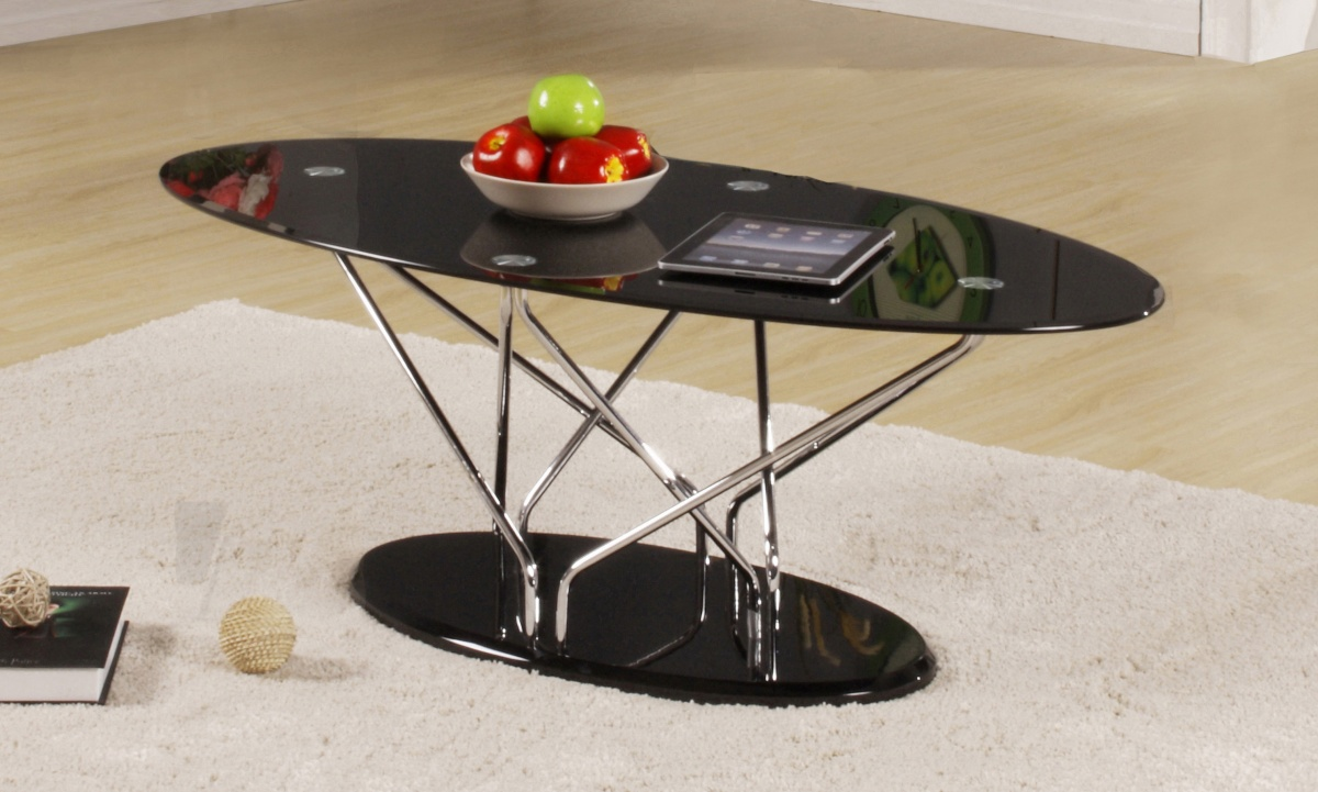 Uplands Black Coffee Table