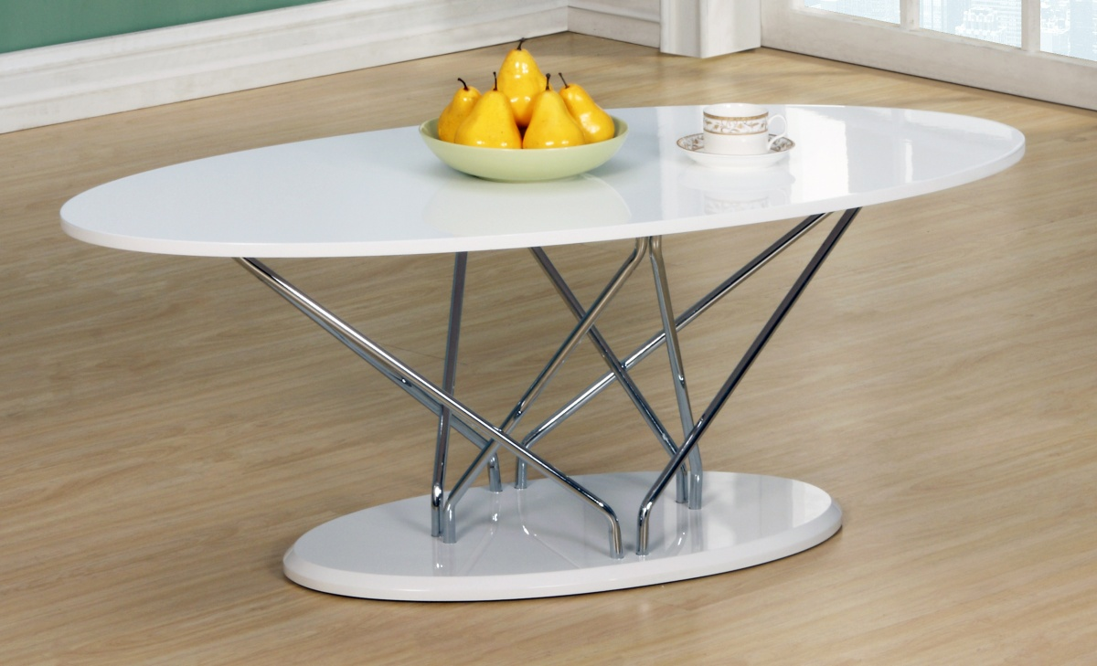 Uplands White High Gloss Coffee Table